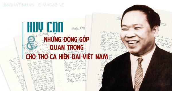Tìm hiểu những thông tin về nhà thơ Huy Cận trong thi nhân Việt Nam