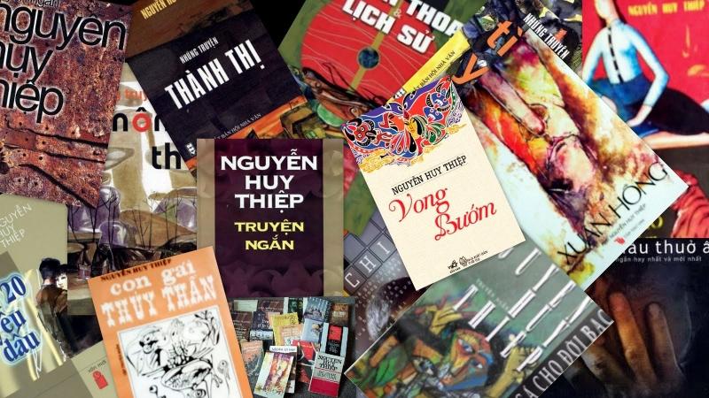 Các tác phẩm tiêu biểu của nhà văn Nguyễn Huy Thiệp