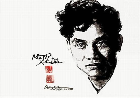 Nhà thơ Xuân Diệu  (1916 – 1985)